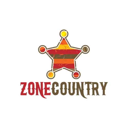 Logo Zone Country - Par Cyan Concept