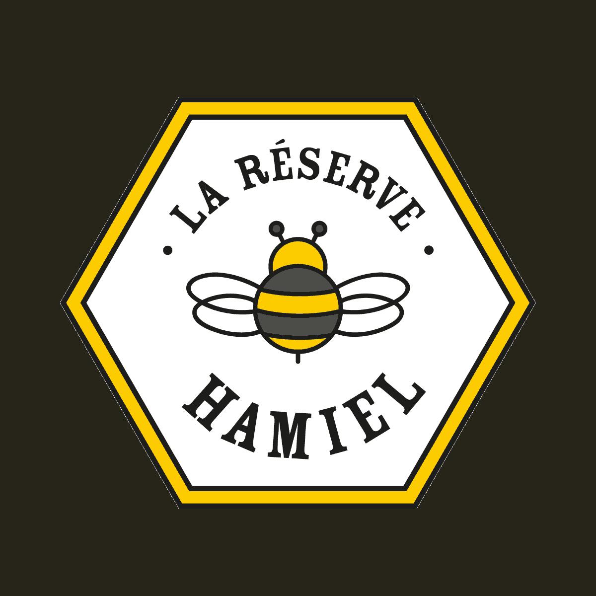 Logo La réserve Hamiel - Par Cyan Concept