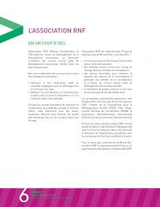 Graphisme du rapport annuel 2016-2017 du RNF