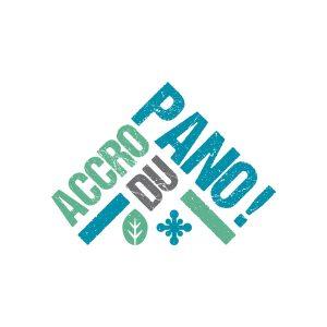 Logo Accro du Pano - Par Cyan Concept