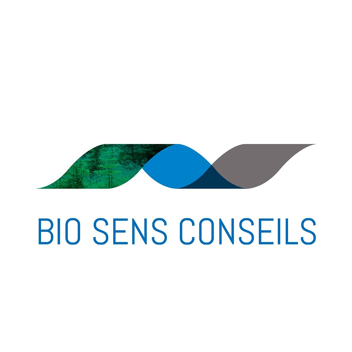 Logo Bio Sens Conseil - Par Cyan Concept