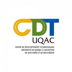 Logo CDT-UQAC - Par Cyan Concept