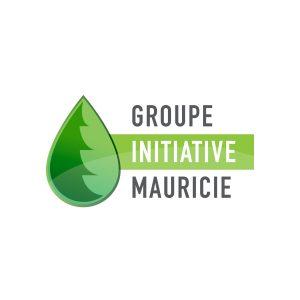 Logo Groupe initiative Mauricie - Par Cyan Concept