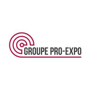 Logo Groupe Pro-expo - Par Cyan Concept