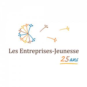 Logo Les entreprises Jeunesse - Par Cyan Concept