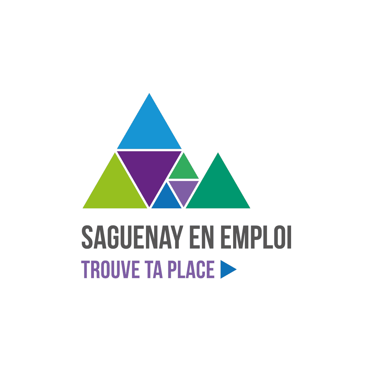 Logo Saguenay en emploi - Par Cyan Concept