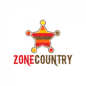 Logo Zone Country - Par Cyan Concept