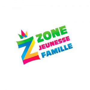 Logo Zone Jeunesse Famille - Par Cyan Concept
