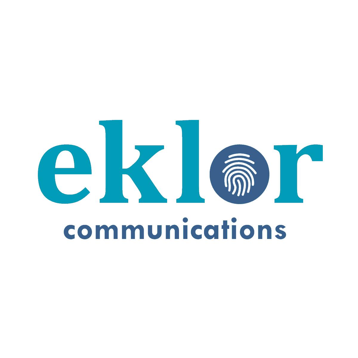 Logo Eklor - Par Cyan Concept