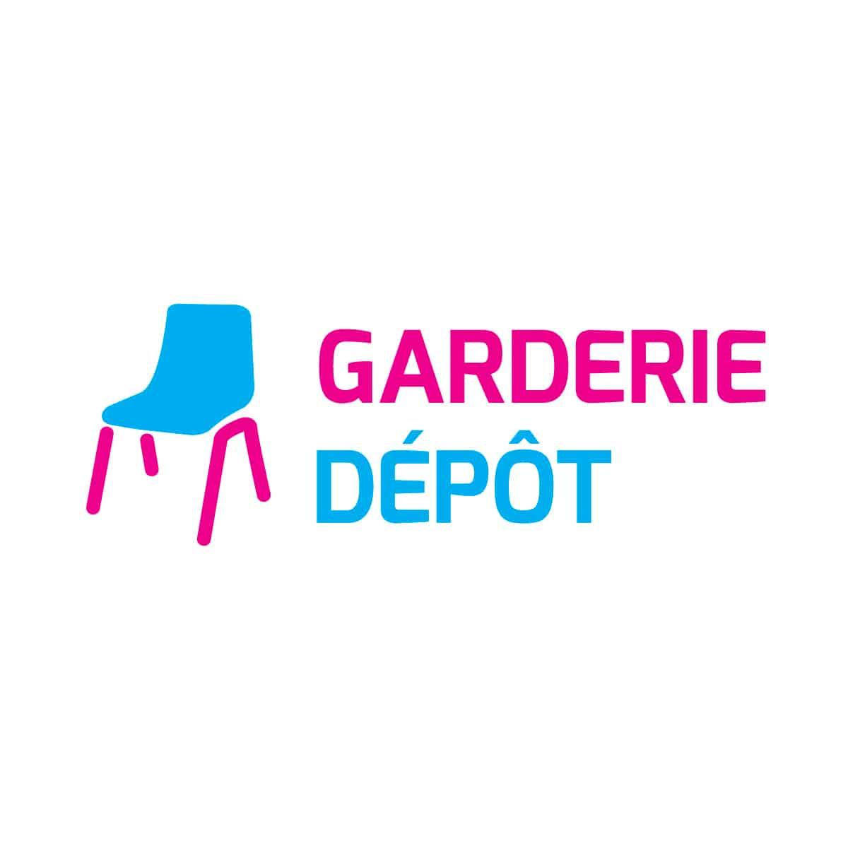 Logo Garderie Dépôt - Par Cyan Concept