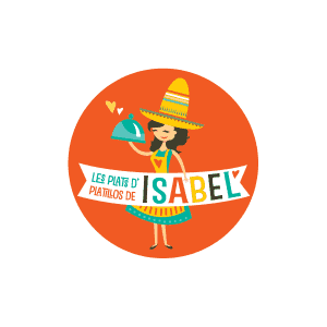 Logo Les plats d'Isabel - Par Cyan Concept