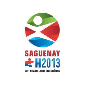Logo Jeux du Québec 2013 - Par Cyan Concept