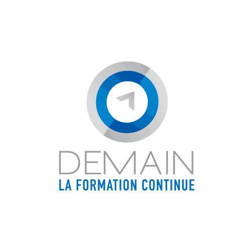 Logo Demain la formation continue - Par Cyan Concept