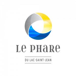 Logo Le phare du Lac-Saint-Jean - Par Cyan Concept