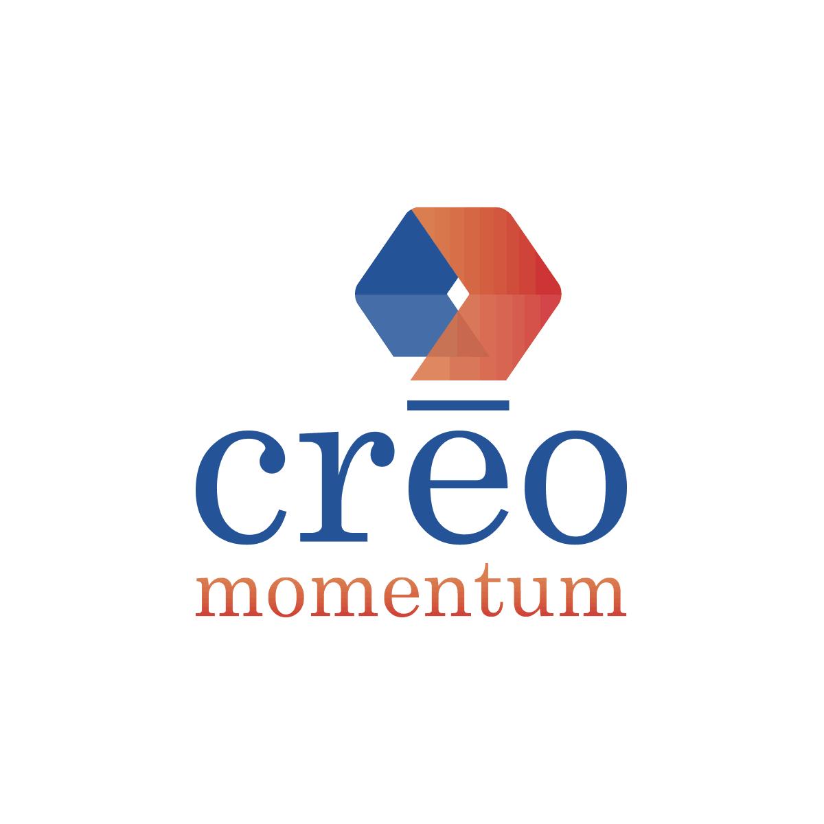 Logo Créo Momentum - Par Cyan Concept