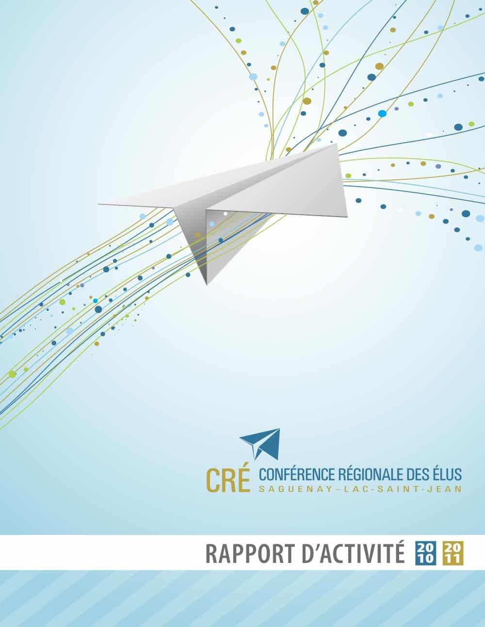 Graphisme Rapport annuel - CRÉ
