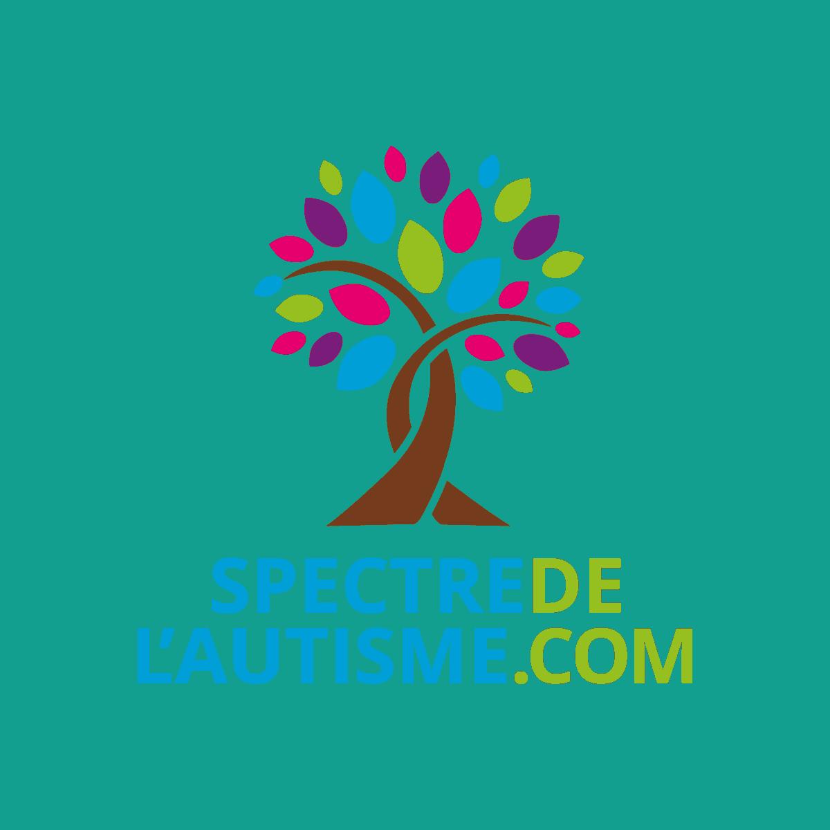 Logo Spectre de l'autisme.com - Par Cyan Concept