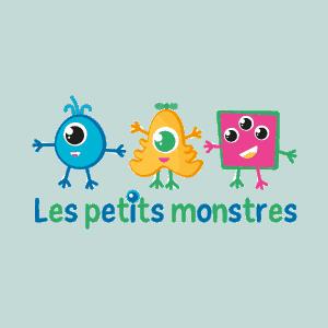 Logo Les petits monstres - Par Cyan Concept