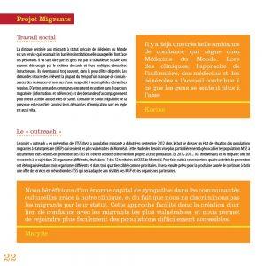 Graphisme du rapport annuel de Médecins du monde 2012-2013