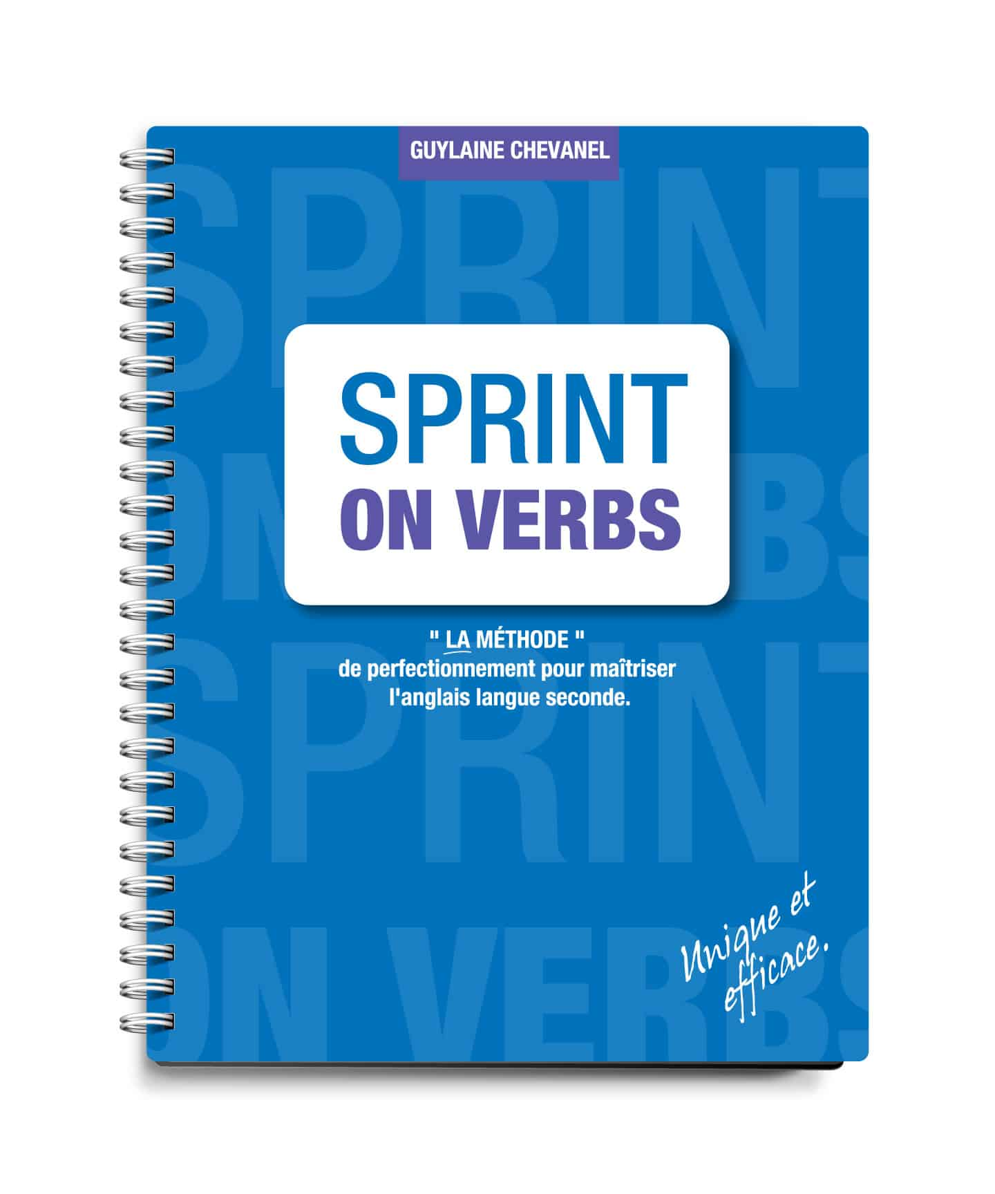 Design couvert - Sprint on verbs