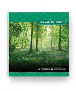 Graphisme couvert de livre - Cyan concept - Hommage à Jean Charest