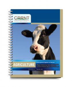 CRRNT - Graphisme couvert par Cyan concept - Agriculture