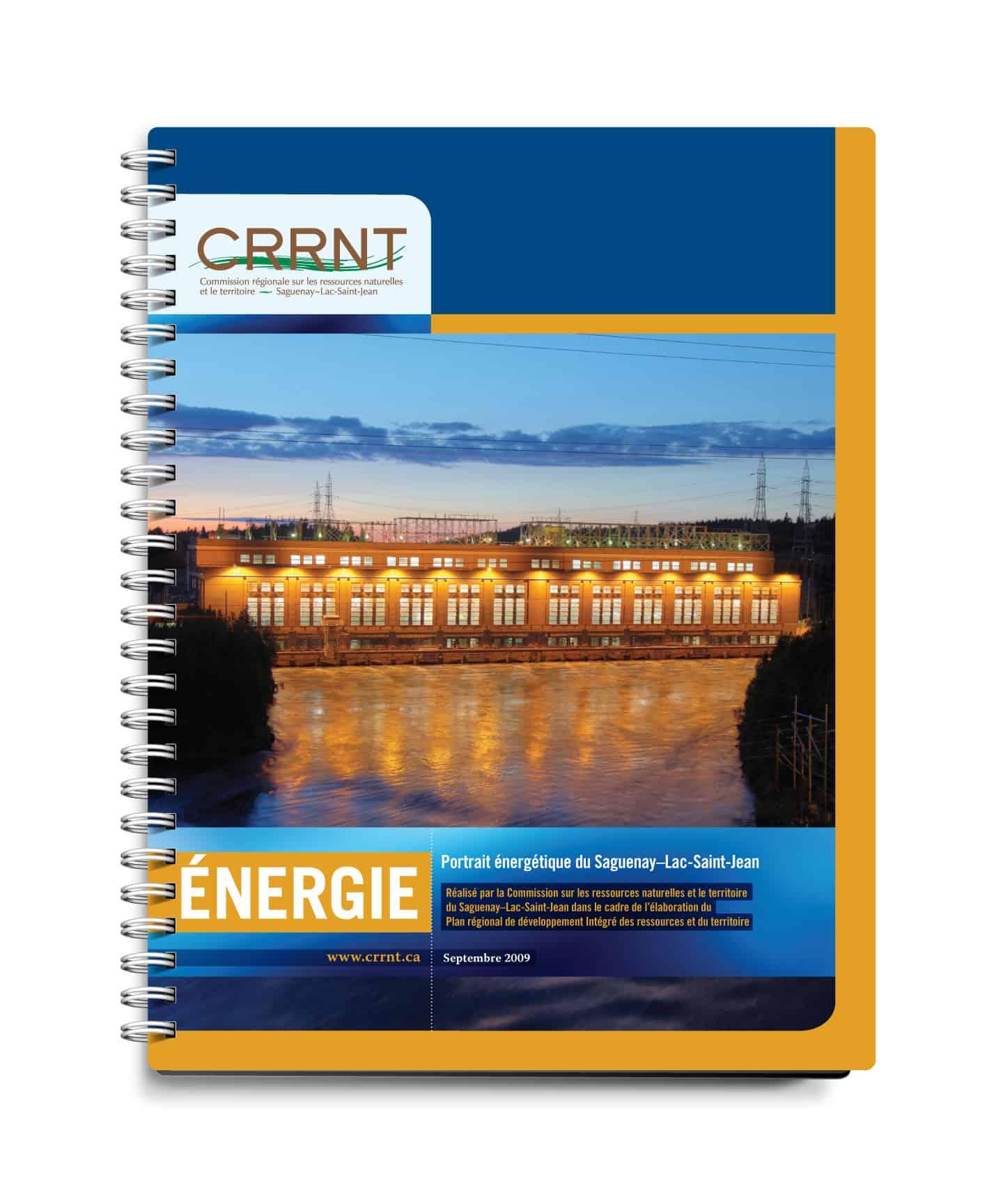 CRRNT - Graphisme couvert par Cyan concept - Énergie