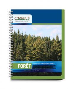 CRRNT - Graphisme couvert par Cyan concept - Forêt