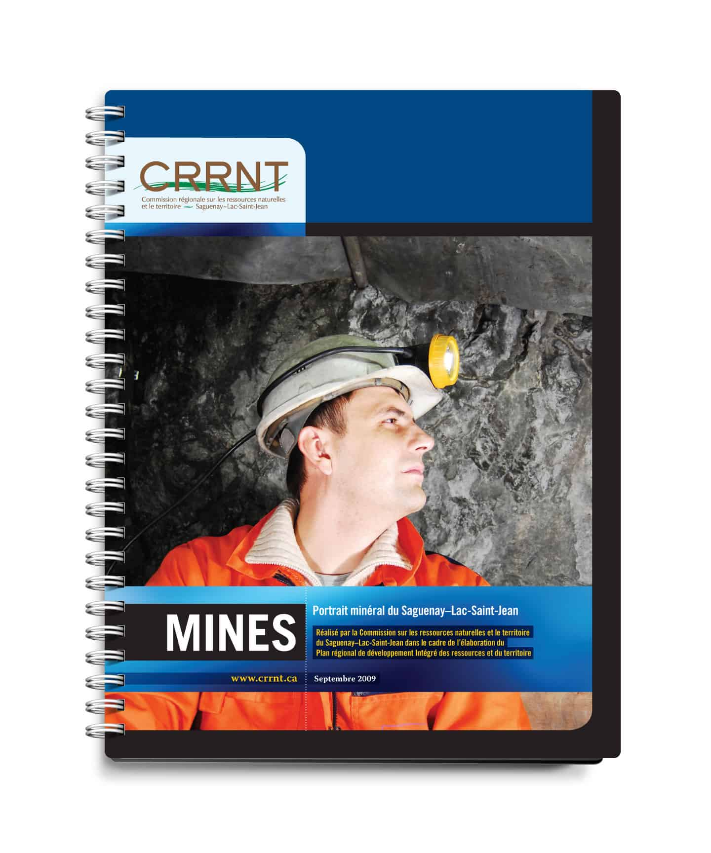 CRRNT - Graphisme couvert par Cyan concept - Mines