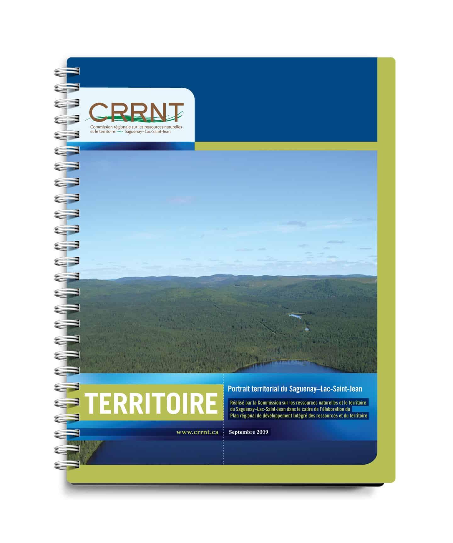 CRRNT - Graphisme couvert par Cyan concept - Territoire