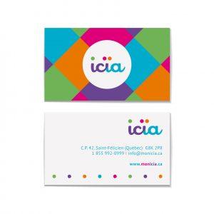 Design de la carte Icïa