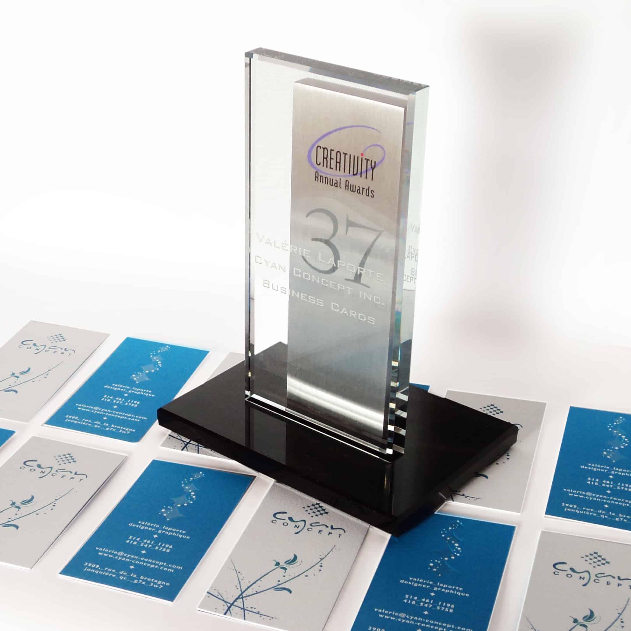 Creativity Awards Cyan Concept