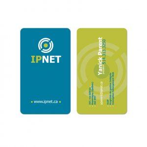 Carte professionnelle IPnet